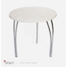 Круглый стол Стерх Хром