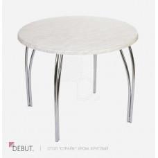 Круглый стол Страйк Хром