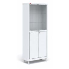 Металлический медицинский шкаф для хранения медикаментов М2 С